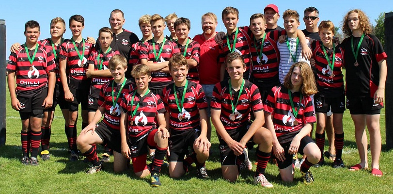 Spring/Summer 2017 Vikings Rugby Club Achievements