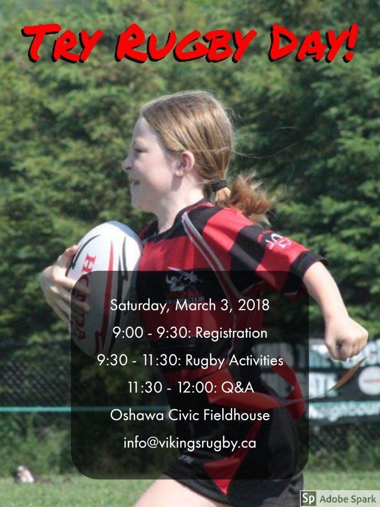 Vikings Try Rugby Day!